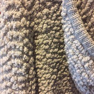 Jackets & Coats - Gray fuzzy sweatshirt
